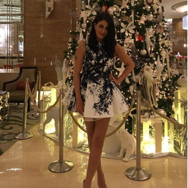 صور غادة عبدالرازق 2016 بجودة hd , بالصور فستان يثير السخرية ترتدية غادة عبدالرازق