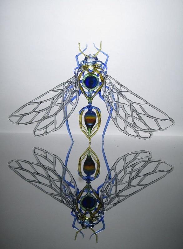 فن الزجاج , صور نحت على الزجاج , بالصور تدوير الزجاج بطريقة فنية