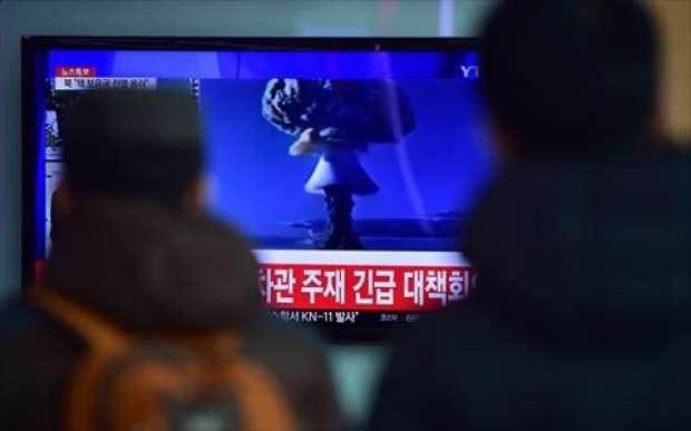 شاهد تجربة القنبلة الهيدروجينية في كوريا الشمالية , بالصور نجاح تجربة القنبلة الهيدروجينية