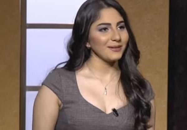 صور الفنانة الشابة ياسمينا بماكياج قوي فستان مكشوف الصدر