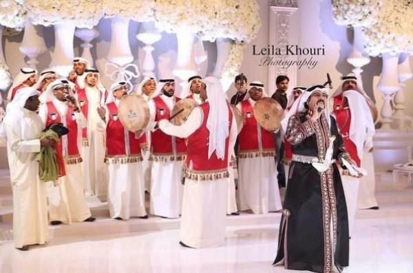 صور سارة الصباح تتوج ملكة في حفل زفاف أسطوري من أفخم حفلات الزفاف
