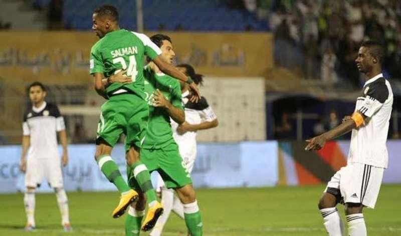 الأهلي السعودي الأول اسيوياً , ترتيب الأندية الخمسة الأوائل عربياً