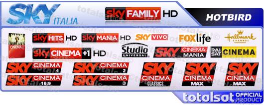 الباقة الايطالية Sky Italy بالصور الشرح HD