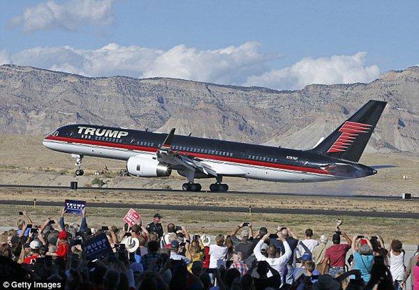 صور طائرة ترامب الأكثر رفاهية في العالم بسعر 100 مليون دولار