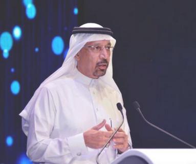خالد الفالح يعتذر عما حدث بحفل تدشين مشاريع أرامكو
