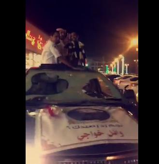 صور لحظة استقبال وائل خواجي , فيديو استقبال وائل خواجي