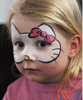 شرح بالصور طريقة الرسم على الوجه