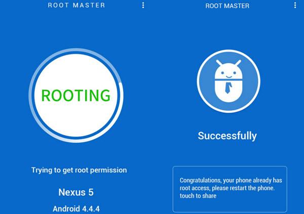 تطبيق Root Master لعمل روت للاندرويد بسهولة
