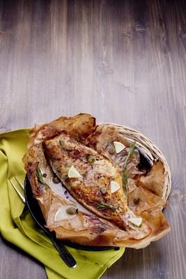 سمك الهامور المشوي بتتبيلة التمر هندي