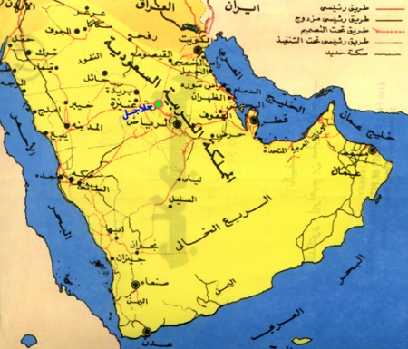 صور رسمة خريطة السعودية , صور حدود المملكة