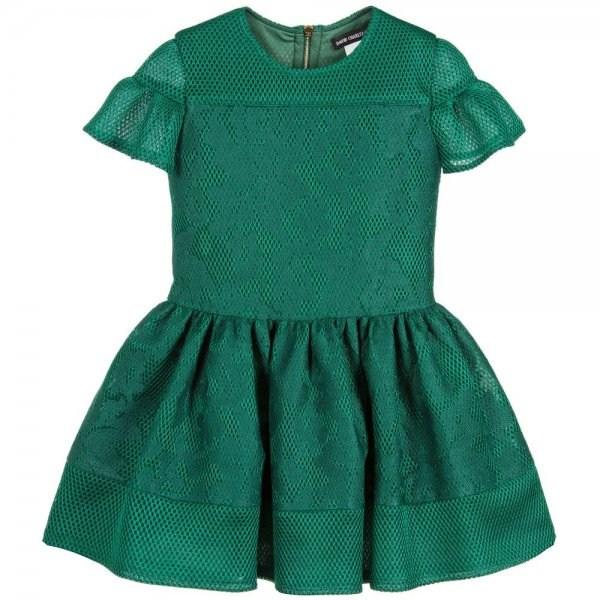 ازياء اطفال بالأخضر والأبيض اليوم الوطني السعودي