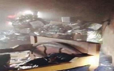 قضية احتراق بناية سكنية بمدينة جازان ,مفاجات صادمة بحريق جازان