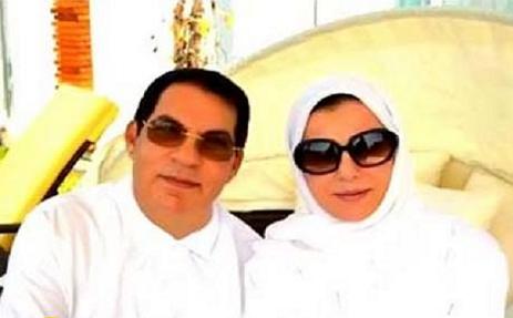صور الرئيس التونسي الاسبق زين العابدين في حفل خطوبة ابنته في دبي