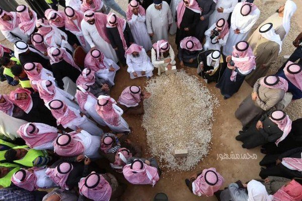 صورة قبر الملك عبدالله ضمن أفضل مائة صورة لعام 2015