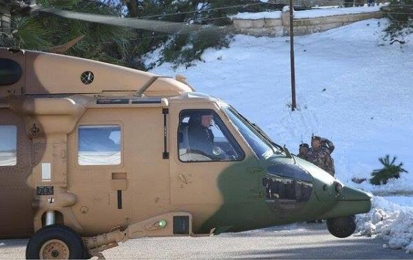 أخبار الاردن الان , عاجل الملك في منطقة القيادة العسكرية الجنوبية 16-12-2013