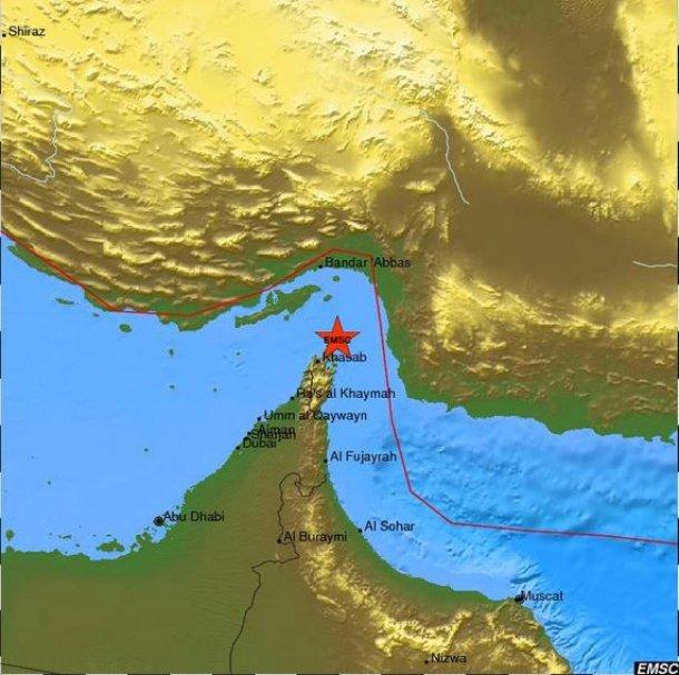 بالصور هزة أرضية بقوة 4.9 تضرب الإمارات وسلطنة عُمان