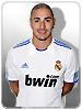 معلومات اللاعب كريم بن زيما - ريال مدريد