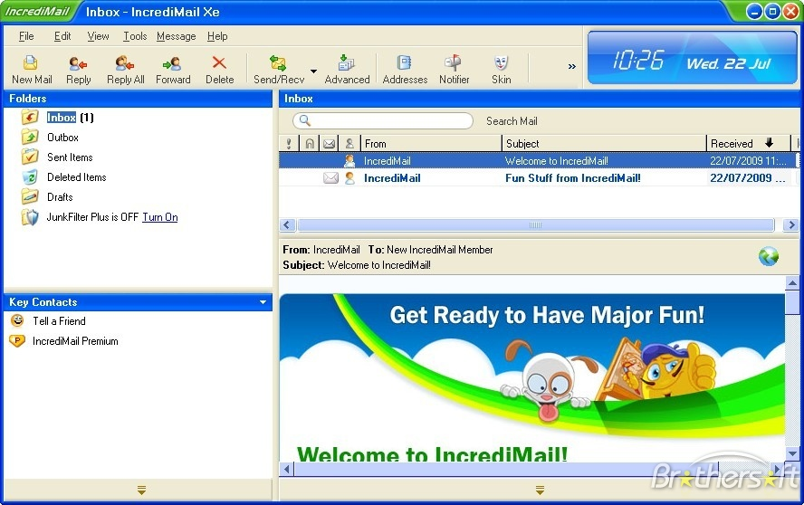 Download IncrediMail 2.5
