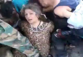 يوتيوب تعذيب امراة سورية من قبل الشبيحة والكشف عن عورتها