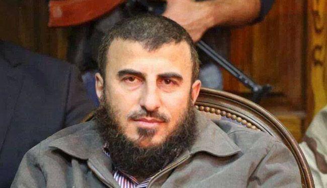 شاهد لحظة مقتل زهران علوش , بالفيديو حقيقة مقتل زهران علوش قائد جيش الاسلام