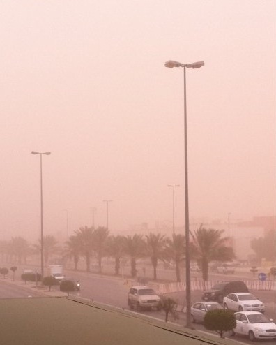 حالة الطقس ليوم الجمعه 11-5-2012