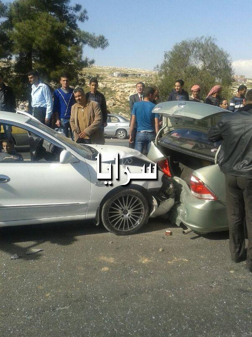 صور حوادث سير الأردن اليوم
