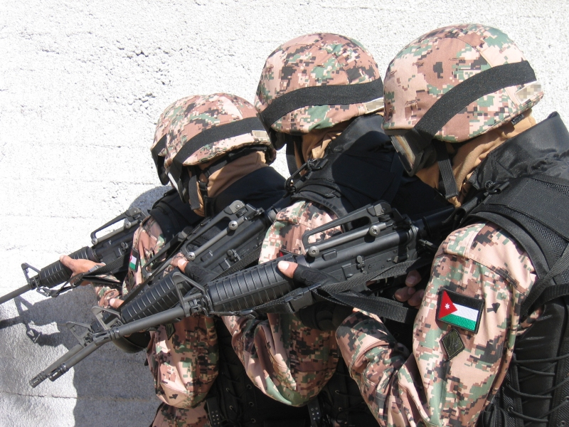 المعارك والحروب التي شاركت بها القوات المسلحة الأردنية