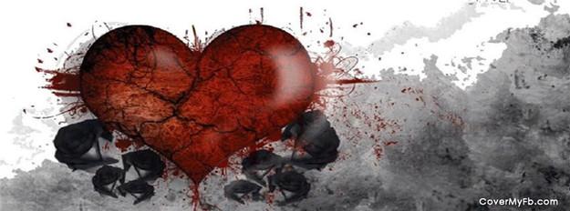 صور اغلفة فيس بوك حب حزينة sad love facebook covers من فضائيات
