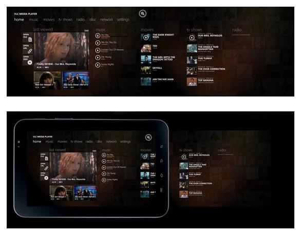 برنامج VLC الموجه لنظام Windows 8 يحقق نجاحا باهرا في حملته على Kickstarter