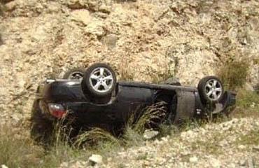 وفاة اثر حادث تدهور منطقة ارميمين - ام جوزه في محافظة البلقاء