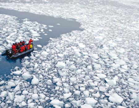 ذوبان الجليد في القارة القطبية الجنوبية يرفع منسوب البحر 3 أمتار