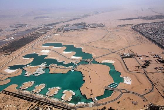 الأردن يدخل عالم الدول التي تمتلك بحيرات وجزر مائية في العقبة