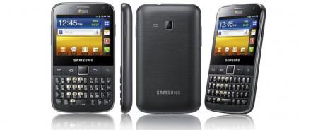 سامسونج جلاكسي واي برو مواصفات ومميزات Samsung Galaxy Y Pro Duos