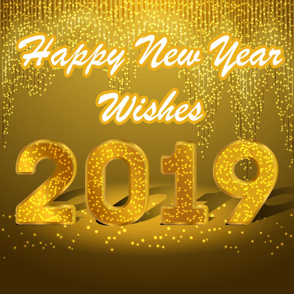 صور مكتوب عليها سنة سعيدة 2019 Happy New Year