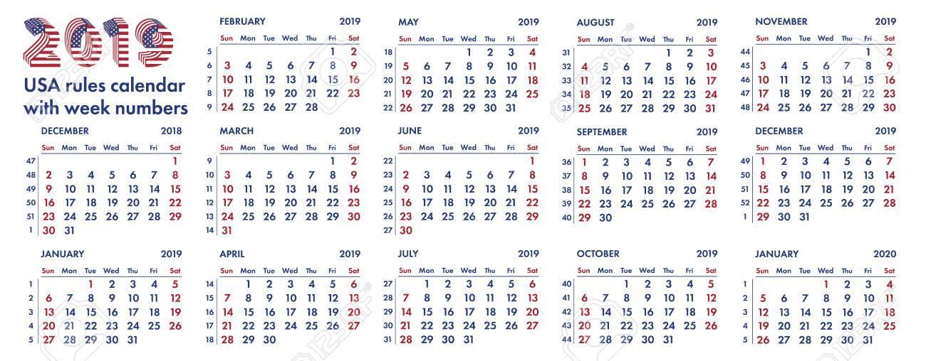 تقويم السنة الميلادية 2019 - صور تقويم السنة الميلادية 2019