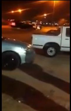 بالصور سيارة سعودية سائقها مخمور ترفض الامتثال للدوريات الخارجية في الاردن