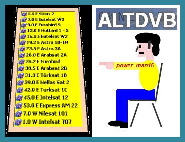 أجمل ملف قنوات 17قمرall HD لل AltDVB بتاريخ 2013/9/10