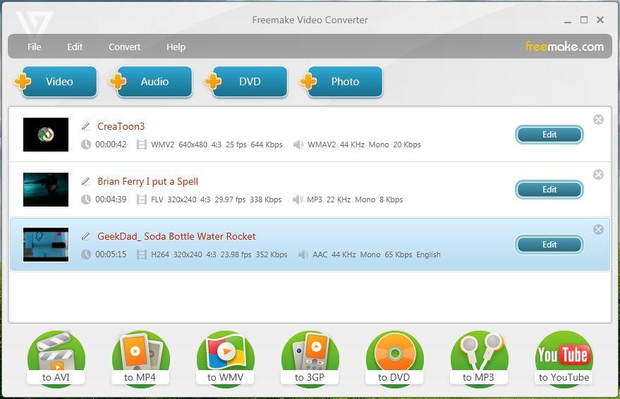 تحميل برنامج فريم ويك فيديو كونفرتر Freemake Video Converter 2013