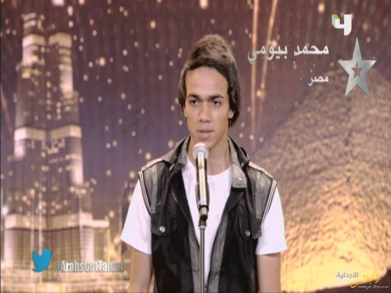 يوتيوب أداء محمد بيومي - مصر - أرب قوت تالنت - Arabs Got Talent السبت 30-11-2013