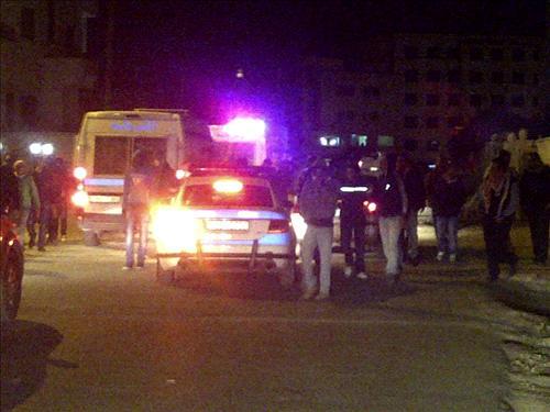 أخبار مدينة جرش الاثنين 24-3-2014 , القبض على 4 أشخاص وفتاة بينهم حراكيون بمطاردة أمنية في جرش