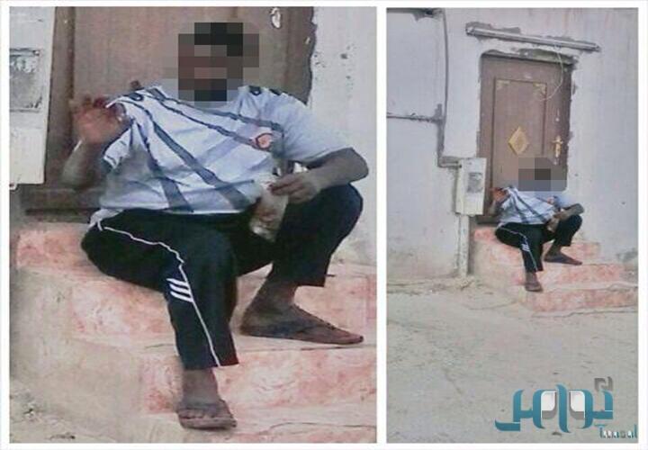 صور وتفاصيل لحظة القبض على العري في قبضة هيئة الرياض
