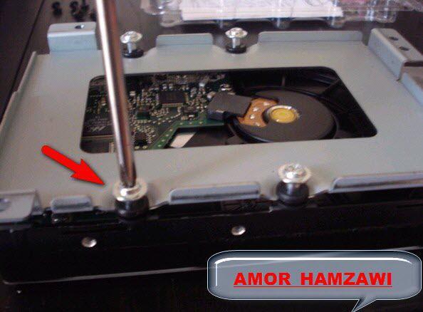 شرح بالصور لكيفية تركيب قرص صلب داخلي للجهاز العملاق VU + DUO