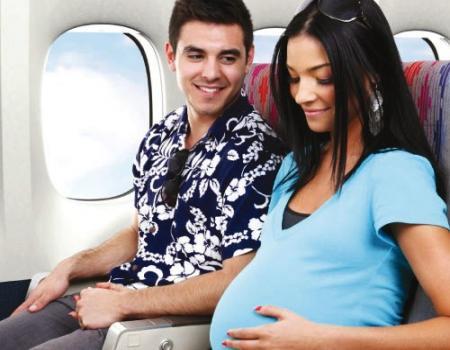 المسموح والممنوع للحامل أثناء السفر