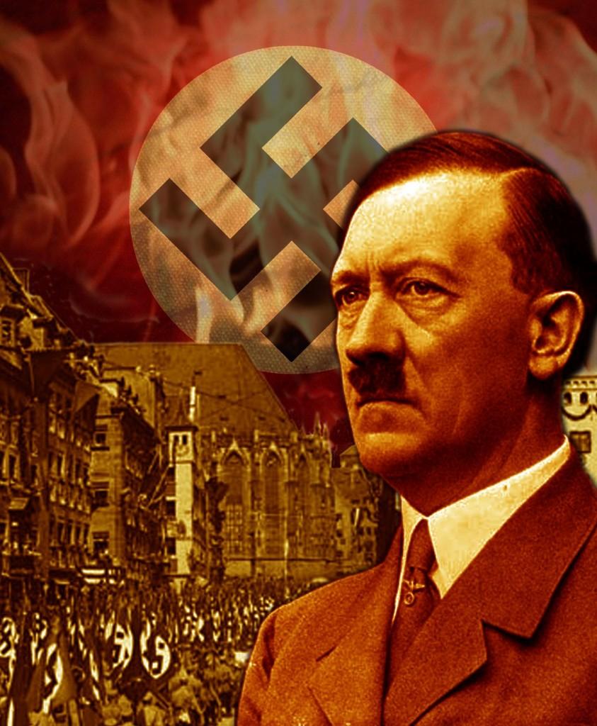اصل هتلر بين جينات اليهود و جينات الأمازيغ , Adolf Hitler