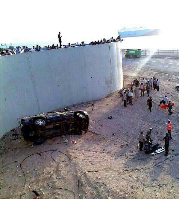 حوادث سير العقبة 2014 , حادث مروع يحصد أرواح 7 من أفراد عائلة واحدة في العقبة