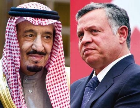ملك الأردن عبدالله الثاني يعزي خادم الحرمين بضحايا حريق مستشفى جازان العام