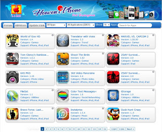 أقوى و اسرع موقع في وضع تطبيقات و ألعاب الأيفون الكاملة , العاب ايفون 2013 , تطبيقات اي فون 2013