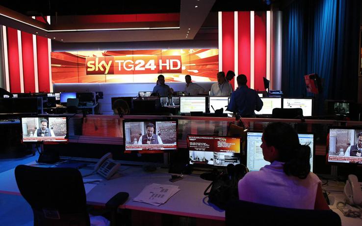 ���� ���� Sky TG24 HD ��� ��� Eutelsat 5 ���� 2016