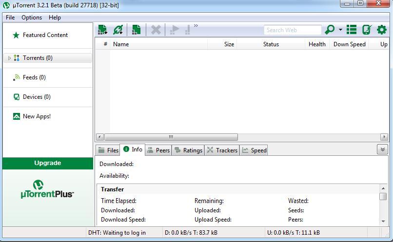 تحميل يو تورنت 2013 كامل - داون لود UTorrent 2013 الجدﯾد بروابط مباشرة مجانا - Download µTorrent