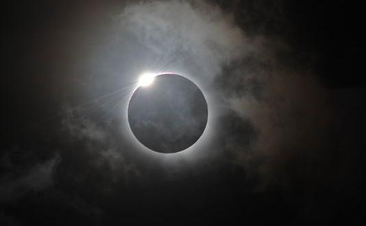 اعتدال ربيعي اثناء موعد الكسوف الشمسي اليوم الجمعه في مصر ودول العالم